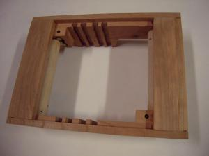 4. frame bottom view