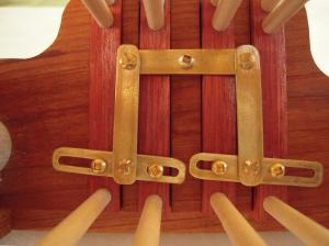 9. harness assembly closeup
